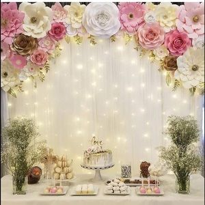 Other - Hanging curtain lights fairy new 300 LED String